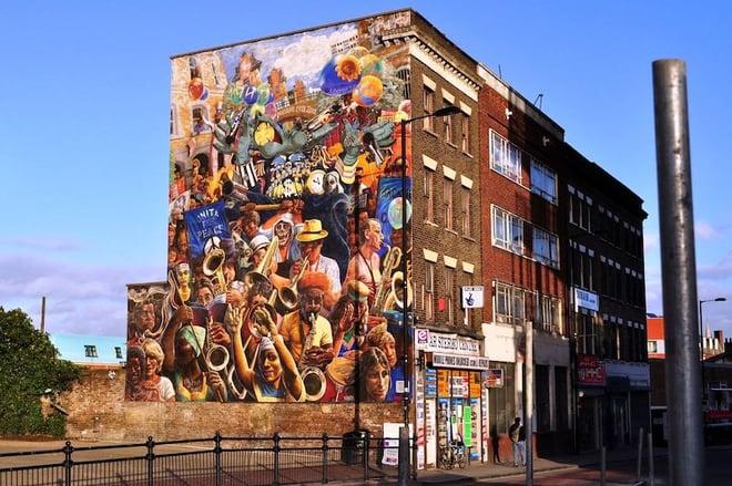 Dalston-Peace-Mural