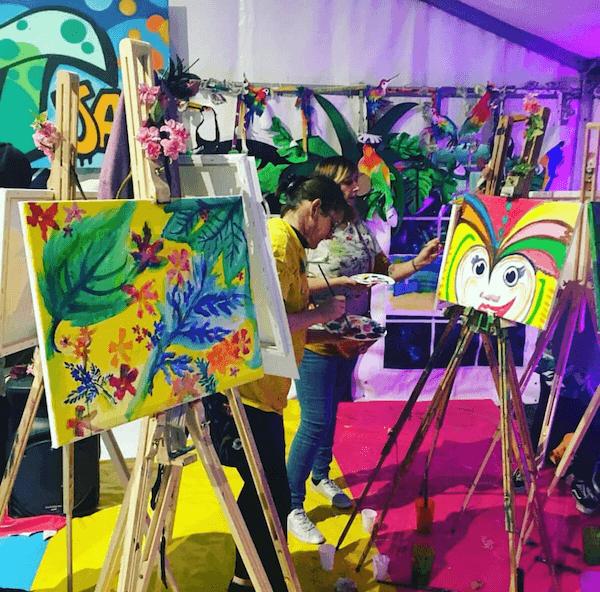 Carnival Paint Jam