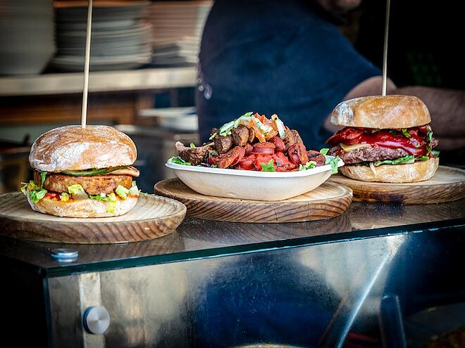 Borough Market food offerings
