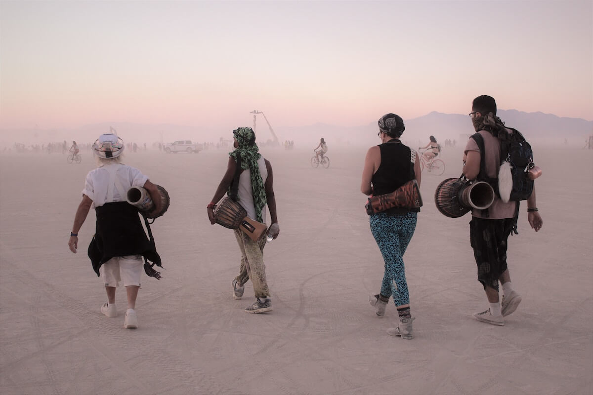 Burning man Lyvly Comparison