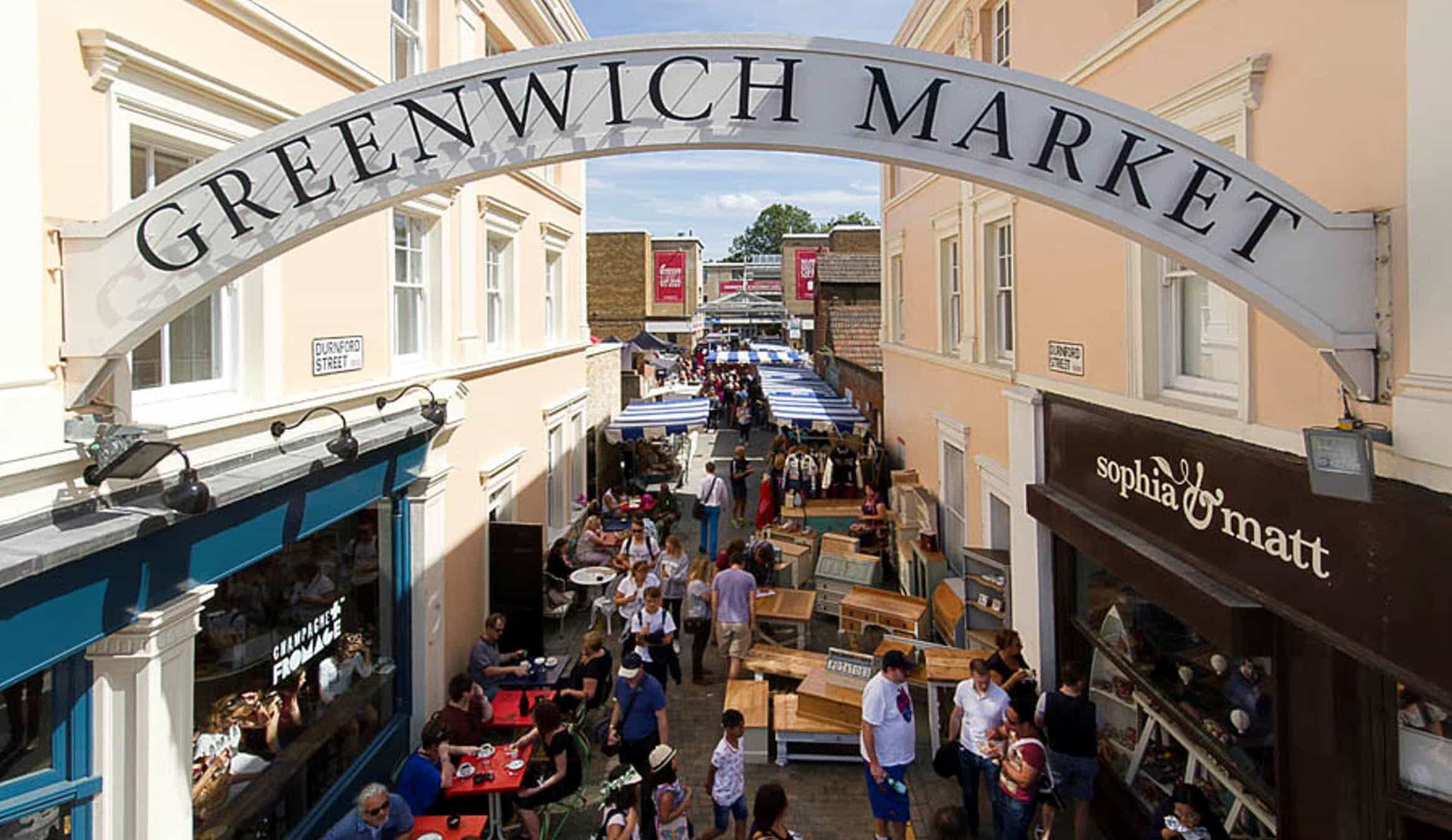 Greenwich's charming market