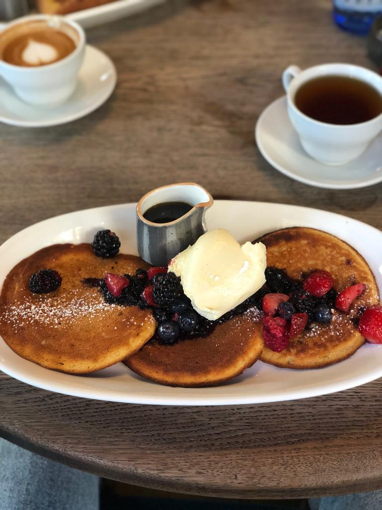 Riding House Cafe pancakes